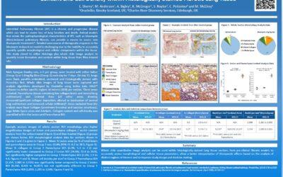 Whole Slide Lung Tissue Image Analysis Poster Presentation, European Respiratory Society 2016